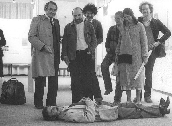 Luc Ferrari couché (1985)